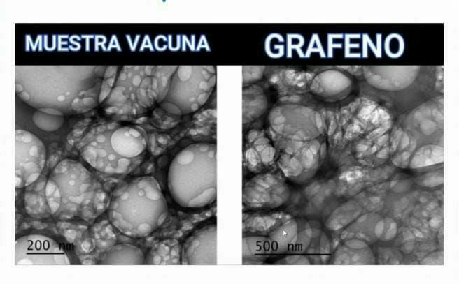 Graphene nanoparticles in Covid vaccines – report from Spain