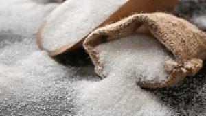 Sugar decreases the activity of antibodies