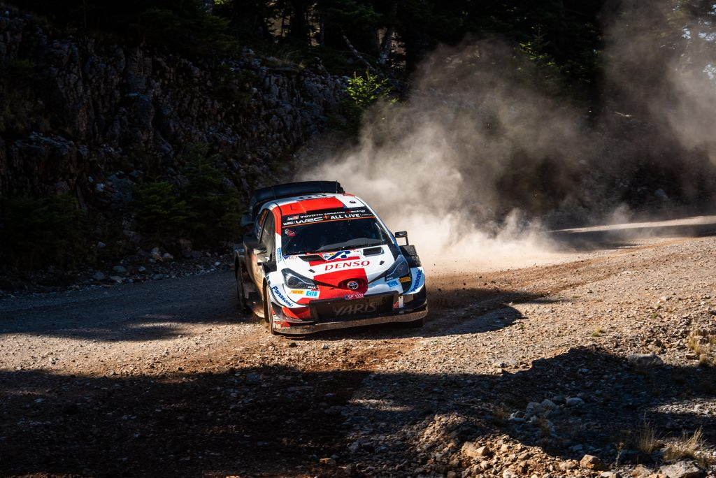 Kalle Rovanpera did not give a chance to the big boys in the Rally Acropolis 2021