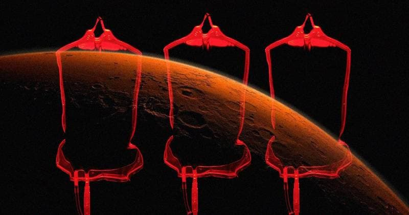 Scientists offer a strange way to change the soil on Mars