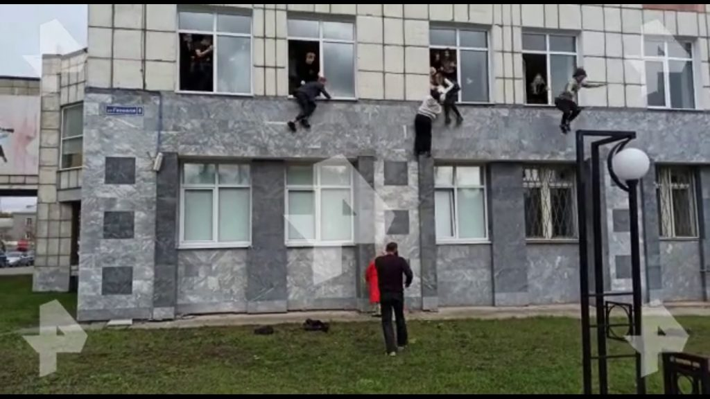 Mass shooting with many killed at a Russian university – a dramatic video
