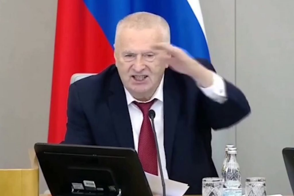 Zhirinovsky with 6 doses of vaccine, while the others are dead