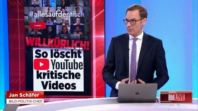 The largest newspaper in Europe fell under the dictates of YouTube