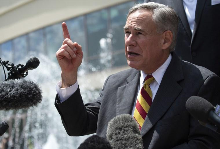 Texas Gov. Greg Abbott responded to Biden about the vaccines