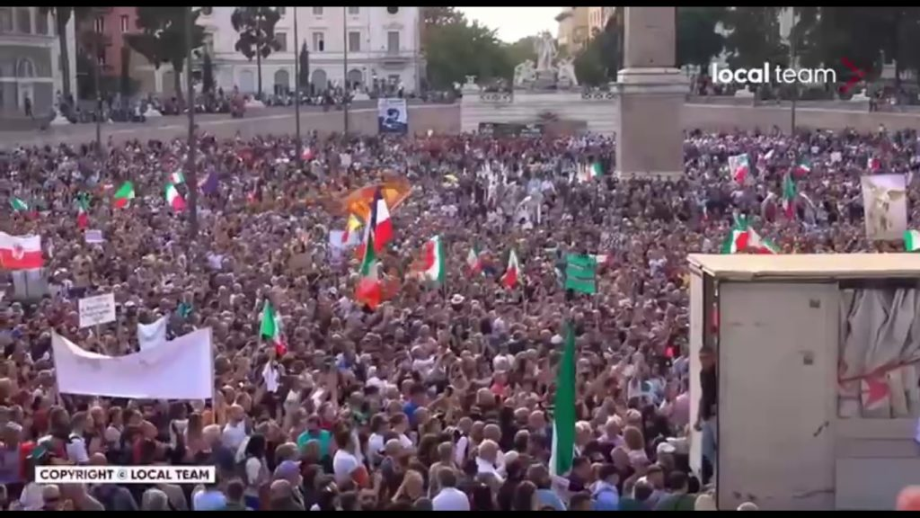 Mass protests around the world. Poland has officially condemned the tyranny against the population of Australia